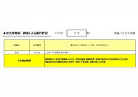 2100HP用【バス北】【路線ごと】運行状況報告