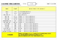 1230HP用【バス北】【路線ごと】運行状況報告